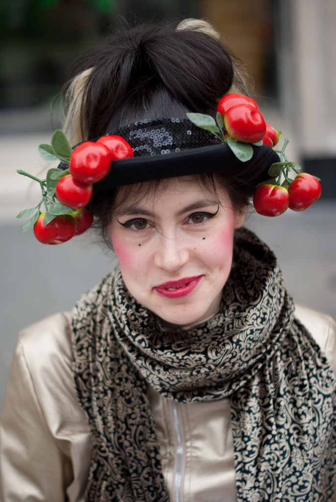 Street Portrait (for and of Lulu), 2013